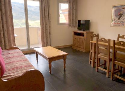 Rent in ski resort 3 room apartment 6 people (04) - Résidence le Hameau de Balestas - Peyragudes