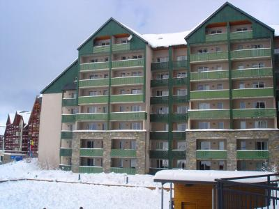 Holiday in mountain resort 2 room apartment 6 people (20A) - Résidence les Balcons du Soleil - Peyragudes - Winter outside