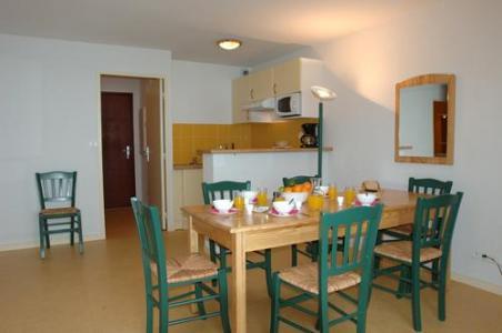 Location au ski Appartement 3 pièces cabine 8 personnes - Residence Les Hauts De Peyragudes - Peyragudes - Coin repas