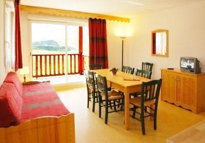 Location au ski Residence Les Hauts De Peyragudes - Peyragudes - Salle à manger