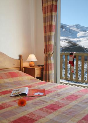 Location au ski Residence Royal Peyragudes - Peyragudes - Chambre