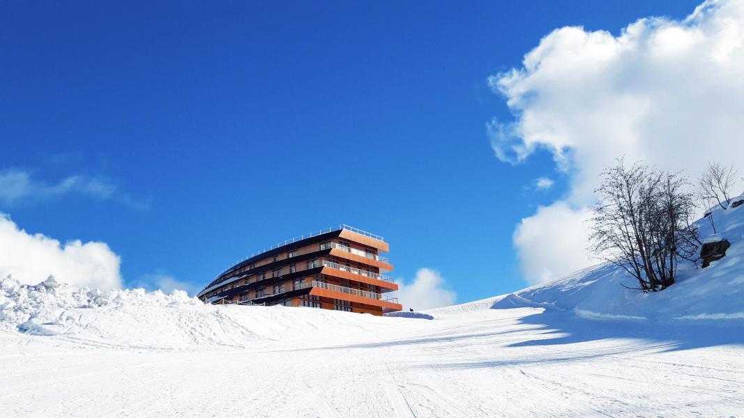 Аренда на лыжном курорте Résidence Lagrange l'Ecrin du Badet - Piau Engaly - зимой под открытым небом