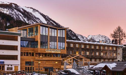 Location au ski Hotel Le Marmotel - Pra Loup - Extérieur hiver