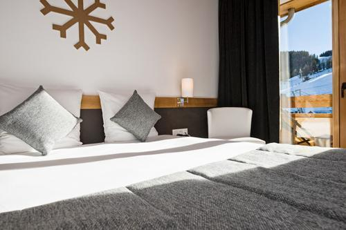 Location au ski Hotel Le Marmotel - Pra Loup - Lit double