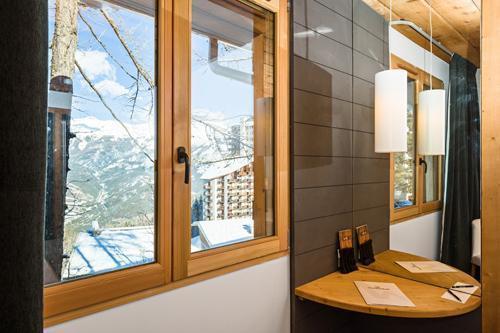 Location au ski Hotel Le Marmotel - Pra Loup - Fenêtre