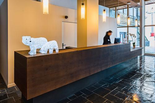 Location au ski Hotel Le Marmotel - Pra Loup - Réception
