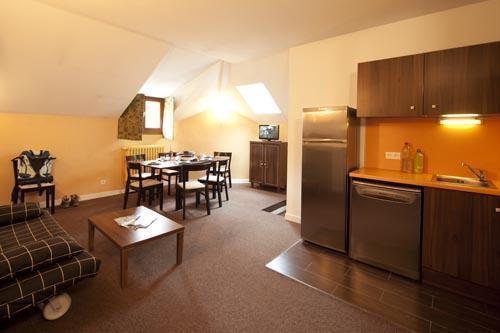 Location au ski Appartement 3 pièces 6 personnes (Residence) - Le Chateau Des Magnans - Pra Loup - Séjour
