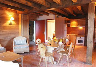 Location au ski Le Hameau De Praroustan - Pra Loup - Salle à manger