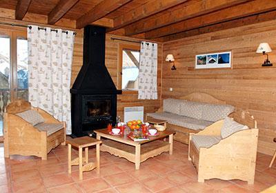 Location au ski Le Hameau De Praroustan - Pra Loup - Réception