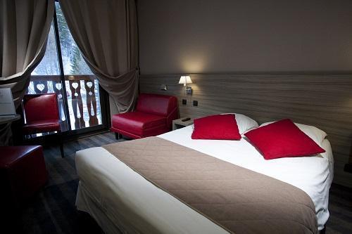 Location au ski Chambre Supérieure (2 adultes + 1 enfant 3 /11 ans) - Les Bergers Resort Hotel - Pra Loup - Chambre