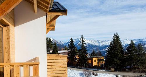 Location au ski Les Bergers Resort Residence - Pra Loup - Extérieur hiver