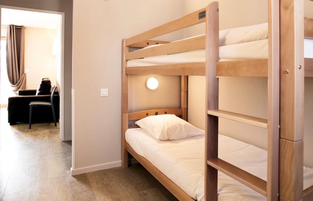 Location au ski Studio coin montagne 4 personnes - Les Bergers Resort Residence - Pra Loup - Coin montagne