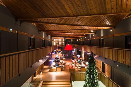 Location au ski Hôtel le Marmotel - Pra Loup - Intérieur