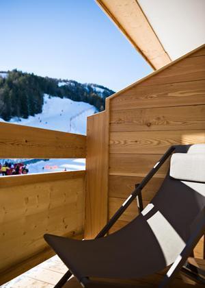 Location au ski Hôtel le Marmotel - Pra Loup - Balcon