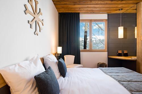 Location au ski Hôtel le Marmotel - Pra Loup - Chambre
