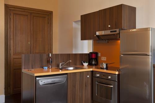 Location au ski Appartement duplex 3 pièces 6 personnes (Residence) - Le Château des Magnans - Pra Loup - Cuisine