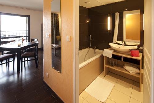 Location au ski Studio 2-4 personnes (Residence) - Le Château des Magnans - Pra Loup - Salle de bains