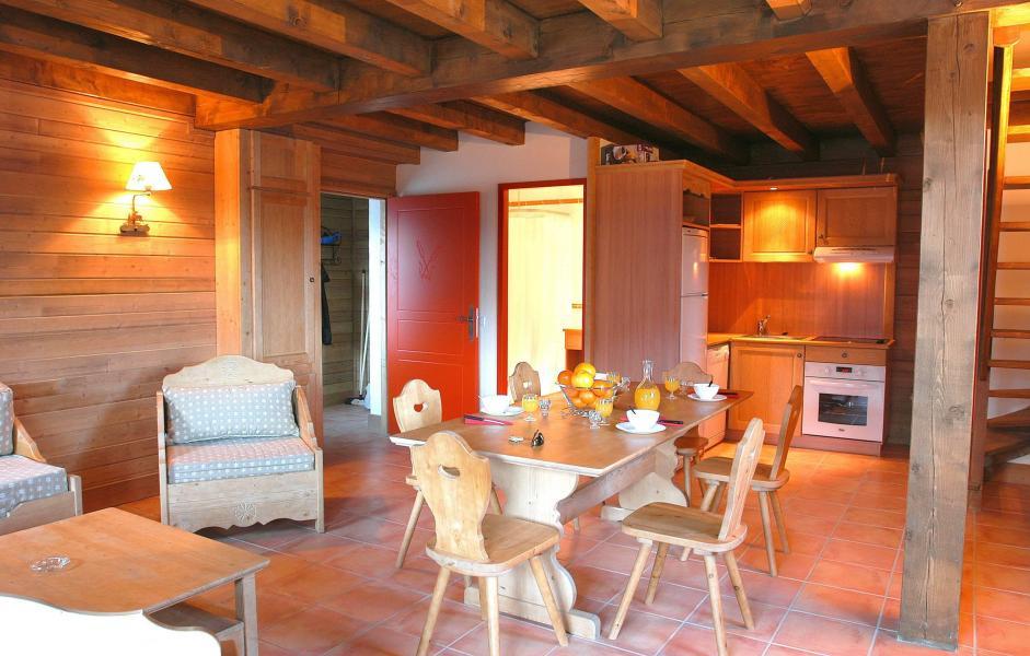 Location au ski Le Hameau de Praroustan - Pra Loup - Table