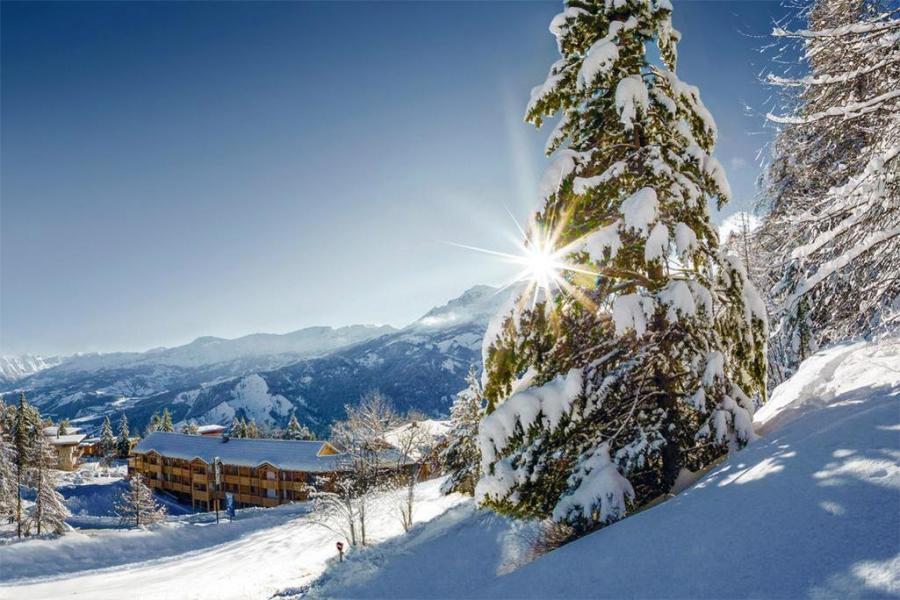 Rent in ski resort Les Bergers Resort Résidence - Pra Loup - Winter outside