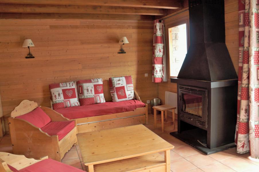 Location au ski Chalet 4 pièces 8-10 personnes - Les Chalets de Pra Loup 1500 - Pra Loup - Canapé-lit