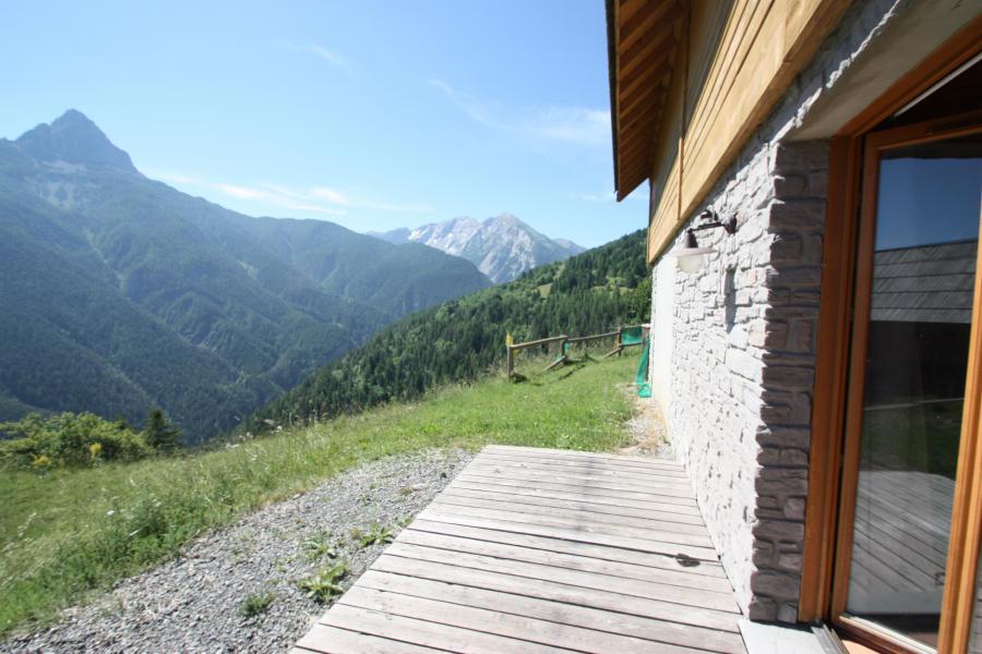 Location au ski Chalet semi-individuel 3 pièces 6 personnes - Les Chalets de Pra Loup 1500 - Pra Loup - Balcon