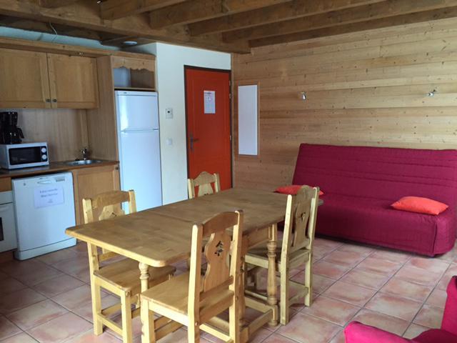 Location au ski Chalet semi-individuel 3 pièces 6 personnes - Les Chalets de Pra Loup 1500 - Pra Loup - Canapé-lit