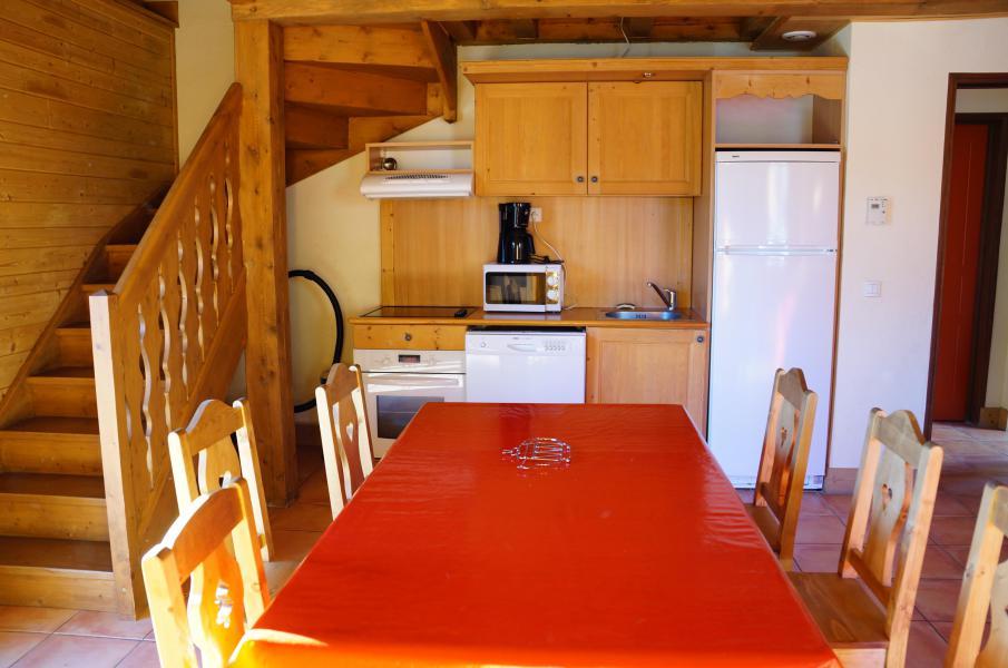 Location au ski Chalet semi-individuel 3 pièces 6 personnes - Les Chalets de Pra Loup 1500 - Pra Loup - Table