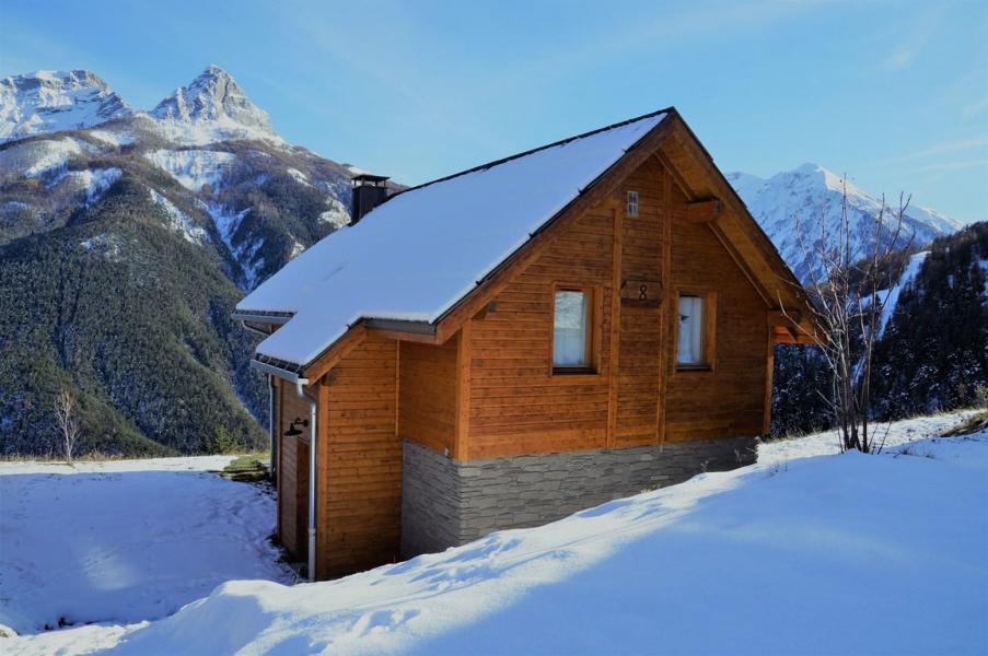 Holiday in mountain resort 5 room mezzanine chalet 12 people (8) - Les Chalets de Praroustan - Pra Loup - Winter outside