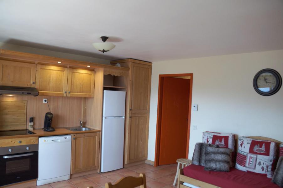 Location au ski Appartement 3 pièces coin montagne 8 personnes (E03) - Les Chalets de Praroustan - Pra Loup - Kitchenette