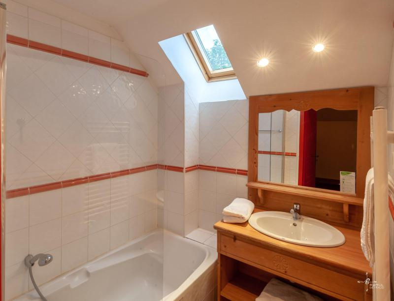Rent in ski resort Les Chalets de Praroustan - Pra Loup - Bath-tub