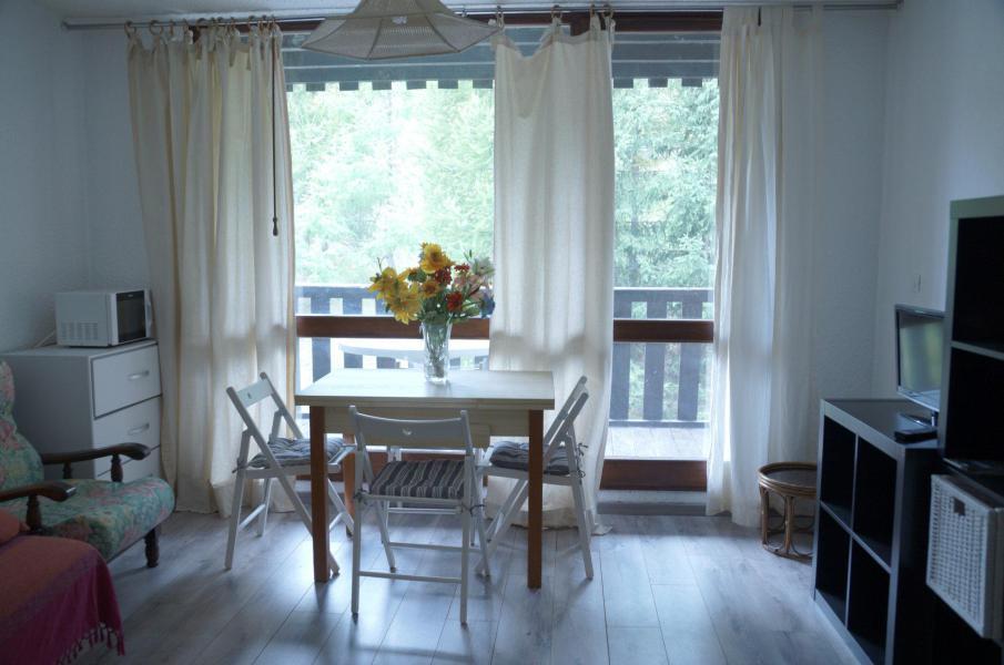 Rent in ski resort Studio sleeping corner 4 people (525) - Résidence la Bérangère II - Pra Loup - Living room
