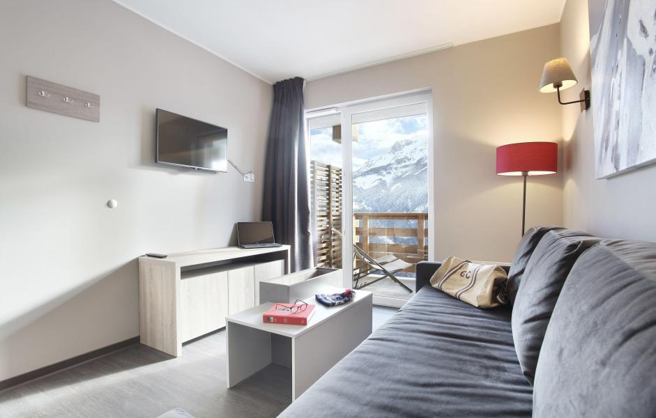 Rent in ski resort Résidence le Village de Praroustan - Pra Loup - Bed-settee