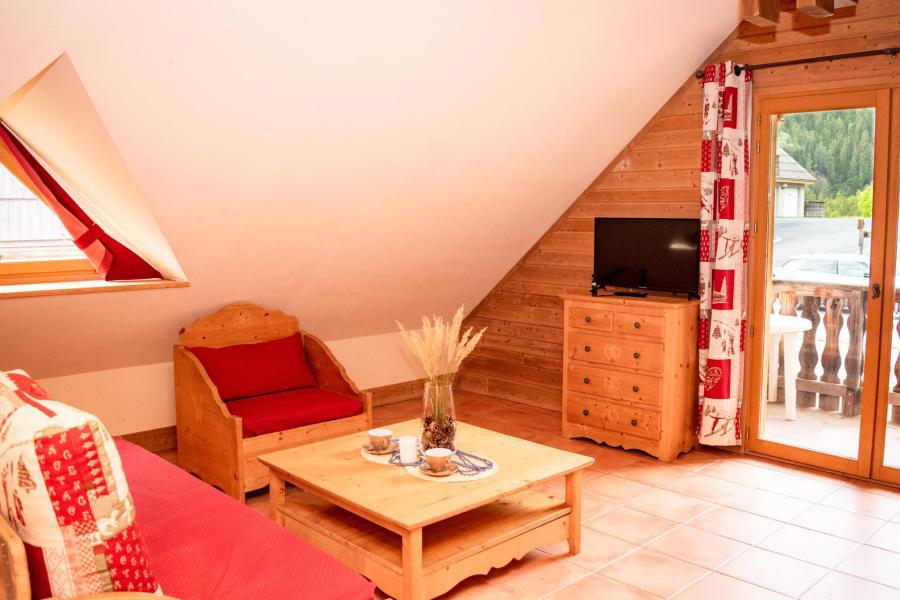 Location au ski Résidence Les Chalets de Praroustan - Pra Loup - Appartement