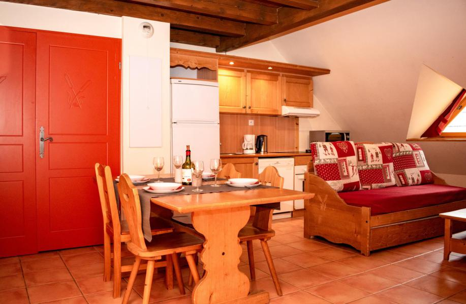 Аренда на лыжном курорте Апартаменты 2 комнат с мезонином 6 чел. (2K201) - Résidence Les Chalets de Praroustan - Pra Loup