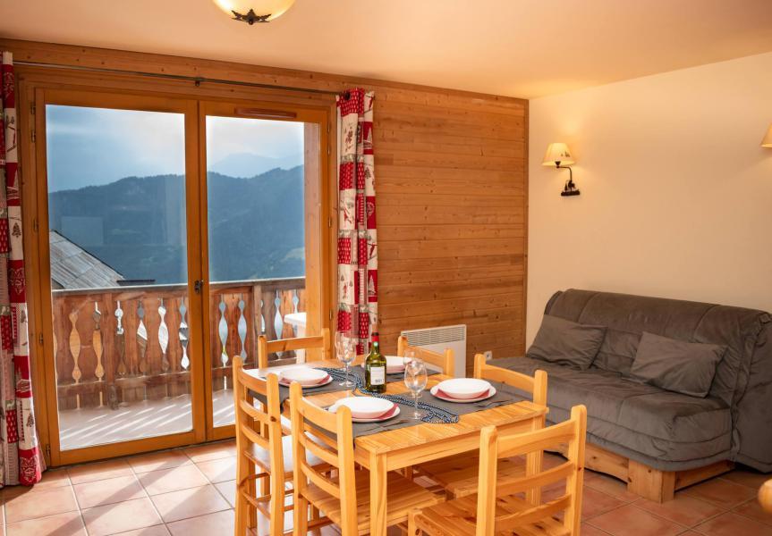 Аренда на лыжном курорте Апартаменты 2 комнат 6 чел. (1F102) - Résidence Les Chalets de Praroustan - Pra Loup