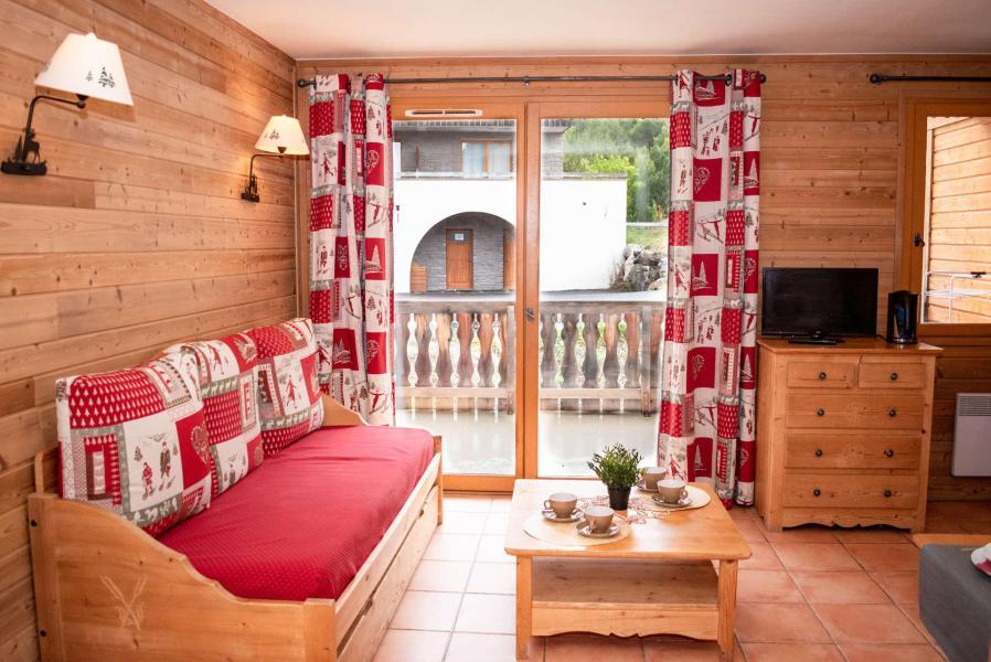 Аренда на лыжном курорте Квартира студия для 4 чел. (1A104 n'est plus commercialisé) - Résidence Les Chalets de Praroustan - Pra Loup