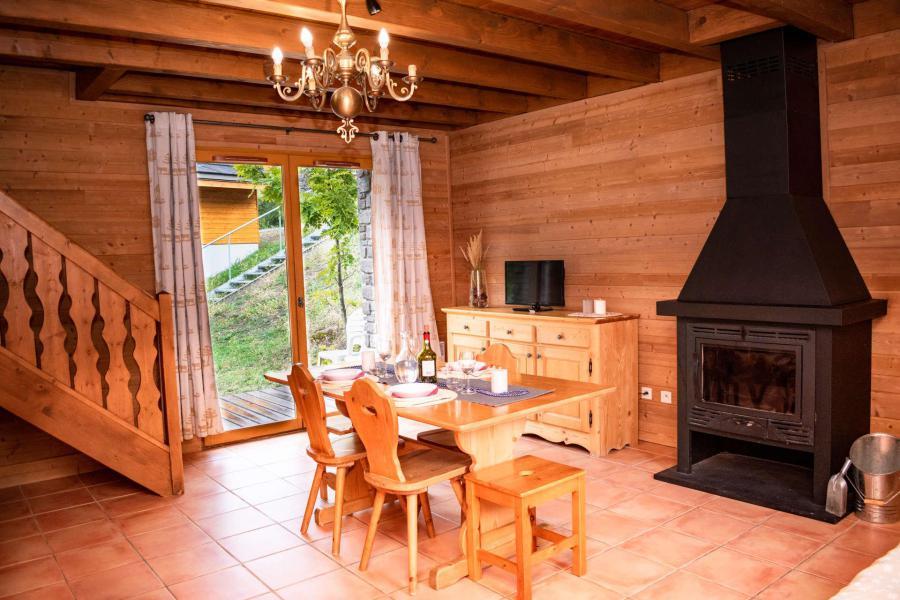 Location au ski Chalet duplex mitoyen 3 pièces 6 personnes (0017D) - Résidence Les Chalets de Praroustan - Pra Loup - Séjour