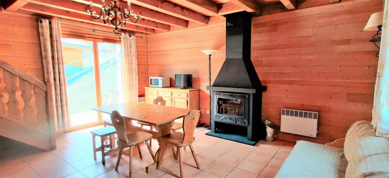 Location au ski Chalet duplex mitoyen 3 pièces 6 personnes (0020D) - Résidence Les Chalets de Praroustan - Pra Loup - Table