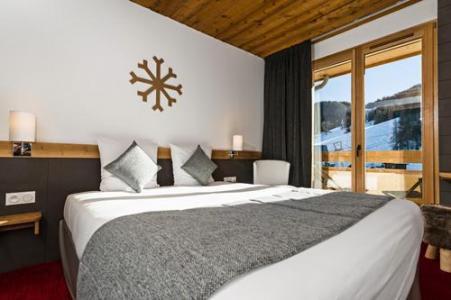 Location au ski Chambre double - Deluxe (2 personnes) - Hotel Le Marmotel