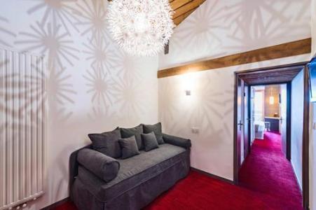 Location au ski Hotel Le Marmotel - Pra Loup - Canapé