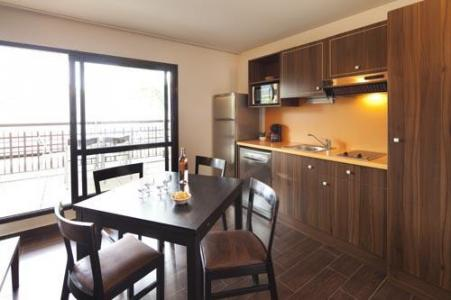 Rent in ski resort Studio 2-4 people (Residence) - Le Château des Magnans - Pra Loup - Kitchen