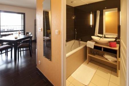 Location au ski Studio 2-4 personnes (Residence) - Le Chateau Des Magnans - Pra Loup - Salle de bains