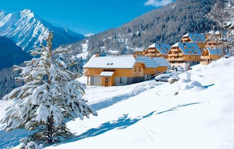 Location au ski Le Hameau de Praroustan - Pra Loup - Extérieur hiver
