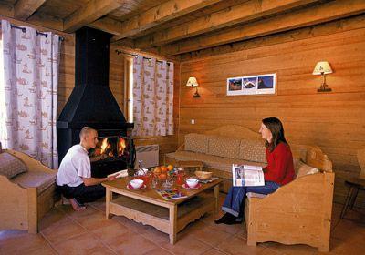 Location au ski Appartement 3 pièces cabine 7-8 personnes - Le Hameau De Praroustan - Pra Loup - Table basse