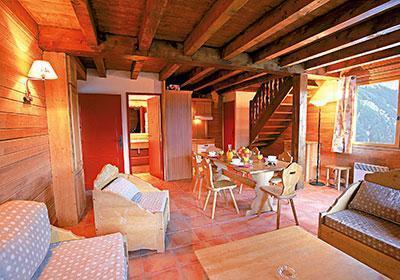 Location au ski Chalet 4 pièces cabine 10 personnes - Le Hameau De Praroustan