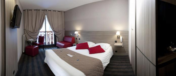 Location au ski Chambre Standard (2 adultes + 1 enfant 3 /11 ans) - Les Bergers Resort Hotel - Pra Loup - Chambre