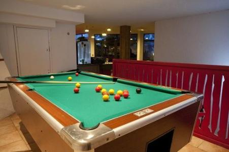 Location au ski Les Bergers Resort Hotel - Pra Loup - Billard
