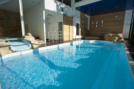 Location au ski Les Bergers Resort Hotel - Pra Loup - Piscine