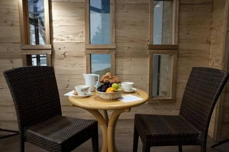 Location au ski Les Bergers Resort Hotel - Pra Loup - Intérieur