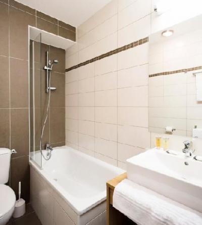 Location au ski Les Bergers Resort Residence - Pra Loup - Salle de bains